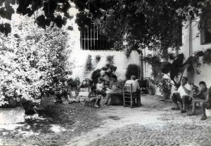 patio antiguo
